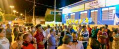 O Prefeito Lídio Carneiro inaugura e entrega Unidade de Saúde e Cras a população de Igaracy