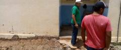 Lídio Carneiro vistoria reforma em escola da zona rural