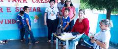 Em Igaracy, Secretaria de Saúde promove orientações a centenas de estudantes
