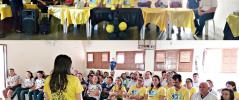 Prefeitura de Igaracy, através da Secretaria de Saúde do município, realiza evento de encerramento referente ao Setembro Amarelo, mês de prevenção ao suicídio.