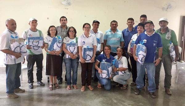 PREFEITO LIDIO CARNEIRO SE REUNE COM OS AGENTES COMUNITÁRIOS DE SAUDE
