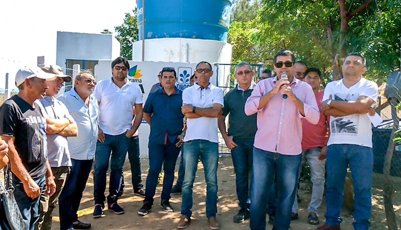 Prefeito de Igaracy inaugura abastecimento de água e beneficia mais de 20 famílias