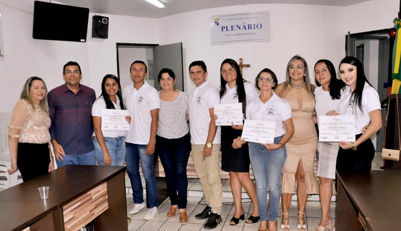 Em Igaray, prefeito prestigia posse dos novos conselheiros tutelares