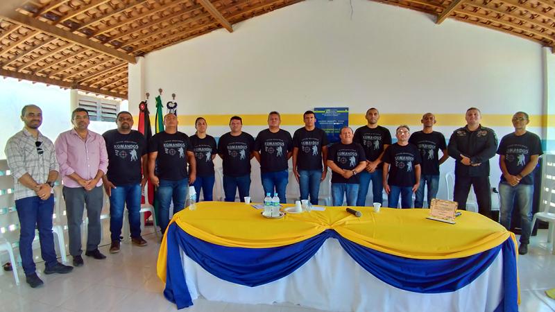 Guarda Municipal de Igaracy recebe certificado de conclusão de curso