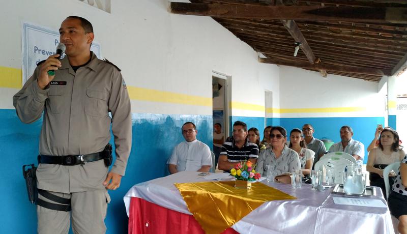 Secretaria de Educação de Igaracy promove palestra sobre drogas