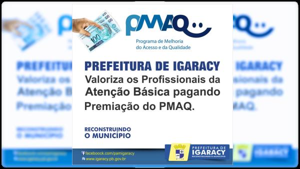 Prefeitura de Igaracy paga premiação de incentivo do PMAC aos servidores da saúde