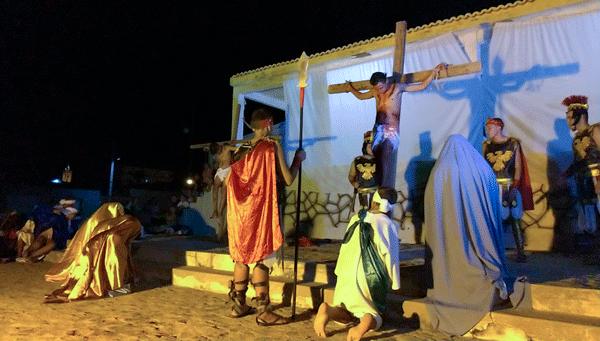 Em Igaracy, prefeitura realiza a encenação da Paixão de Cristo