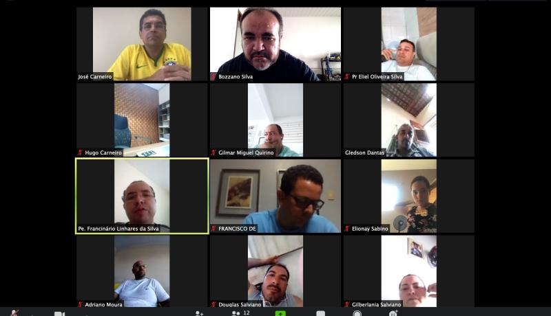 Igaracy realiza primeira conferência virtual contra Covid 19