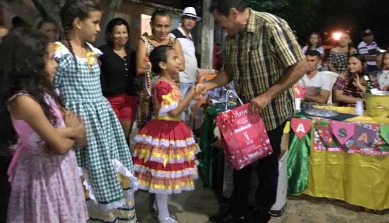 PREFEITO DE IGARACY PARTICIPA DA ABERTURA DO SÃO JOÃO 2018