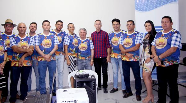 Prefeito de Igaracy participa do lançamento do Rota Junina do Vale do Piancó